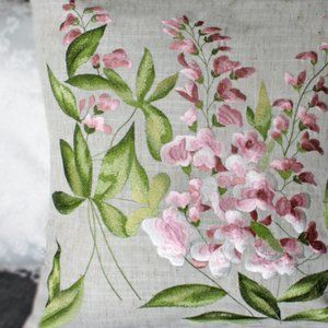 """NEW Cushion Cover only SNAP DRAGONS Botanical, 16"""""""